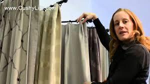how we create euro pleat drapes youtube