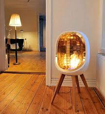 Lighting A Pilot Light Fake Fireplace Light Clear Glass Beads In Electric Fireplace With