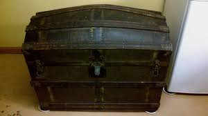 furniture antique coffee table design ideas with black steamer trunk
