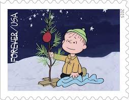 Charlie Brown And Christmas Tree - the u s postal service celebrates the 50th anniversary of