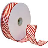 morex ribbon morex ribbon festival wired plaid fabric ribbon 1 1 2