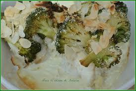 cuisiner brocolis gratin doré de cabillaud aux brocolis dans la cuisine de fabienne