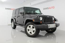 2009 jeep wrangler sport pre owned 2009 jeep wrangler unlimited 4d convertible 4wd