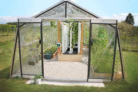 Greenhouse Gazebo This Connected Greenhouse Feeds Four People For Less Than 8000