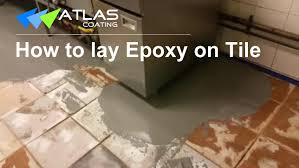 Tile For Kitchen Floor by Epoxy Flooring On Tile Non Slip Commercial Kitchen Flooring In