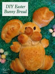 Easter Bunny Decorations To Make by Diy Easter Bunny Bread Thrifty T U0027s Treasures