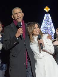 national christmas tree lighting 2016 eva longoria at obamas light the national christmas tree in