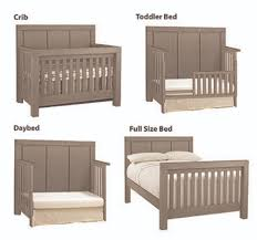 4 In 1 Baby Cribs by 4 In 1 Convertible Crib Piermont Rustic Stonington Gray Oxford