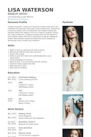 professional makeup artists websites makeup artist resume exle pinteres