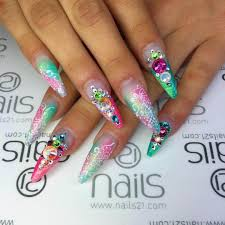 10 colorful nail design pics photos colorful nail design ideas