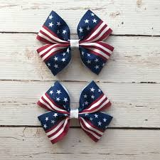 fourth of july hair bows american flag hair bows fourth of july hair bow american girl