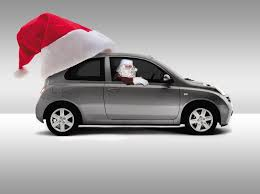 nissan christmas free christmas nissan micra stock photo freeimages com