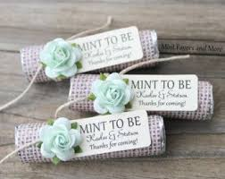 mint wedding favors mint wedding favors set of 24 mint rolls mint to be favors
