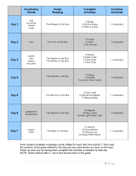 Blank Curriculum Map Template by Lapbooking Hands Of A Child
