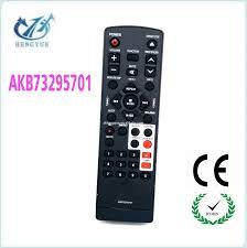 remote audio video lighting wireless remote control for lg akb73295701 av audio video player