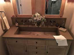 verdicrete concrete sink gallery brooks custom