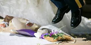 jumping the broom wedding wedding folklore brenwood forge brooms