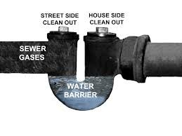 sewer trap and sewer check valve replacement