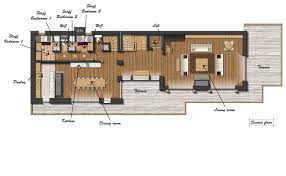28 ski lodge floor plans ski resort first and second floor