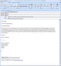 how to email resume and cover letter 5 email format for sending