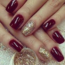 amazing burgundy nail designs for women fancy nails pinterest