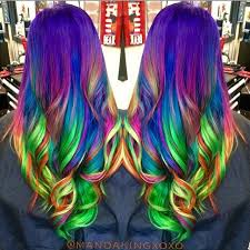 rainbow color hair ideas ideas about rainbow colored hairstyles cute hairstyles for girls