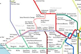 Chicago Trains Map by The Most Optimistic Possible La Metro Rail Map Of 2040 Curbed La