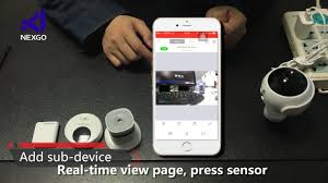 nexbang smarthome products setting 247mb youtube