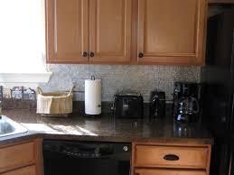 Metal Backsplash For Kitchen Decorative Kitchen Backsplash Panels All Home Design Ideas