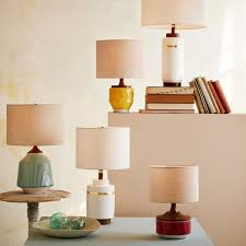 Yellow Table Lamp Yellow Ceramic Table Lamps Xiedp Lights Decoration