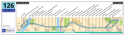 Air France Route Map by Ratp Route Maps For Paris Bus Lines 120 Through To 129