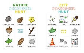 secret garden crafting scavenger hunt red stamp
