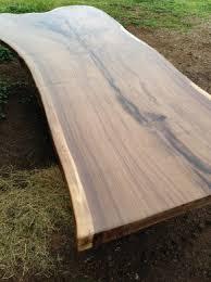 Oak Slab Table by Live Edge Wood Slab Tables Black U0027s Farmwood