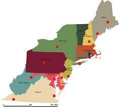 northeast map of us labeled us northeast coast map 92 with us northeast coast map at maps