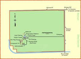 Apache Junction Az Map Maps Casa Grande Ruins National Monument U S National Park