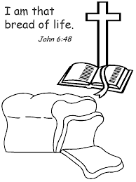 Bible Bread Of Life Coloring Pages Free Coloring Pages Clip Bread Coloring Page