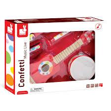 Cuisine Bois Enfant Janod by Guitare Rouge Ensemble Musical Confetti De Janod En Bois