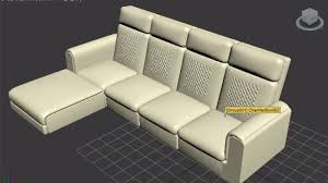 Leather Cloth Sofa Sofa Modeling In 3ds Max Bangl Leather Cloth Sofa Modern Sofa