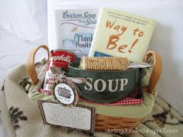 soup gift baskets get well soon basket gift ideas blanket