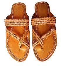 Footwear Kholapuri Handmade Footwear Handmade Footwear Lotus Crafts