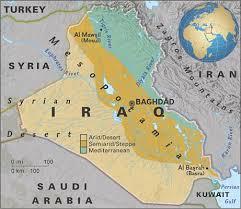 map of irak national geographic news iraq maps