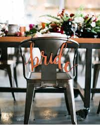 wedding chair signs genuine leather and groom calligraphy wedding chair
