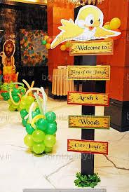 jungle theme birthday party birthday party organisers in delhi birthday party organizers in