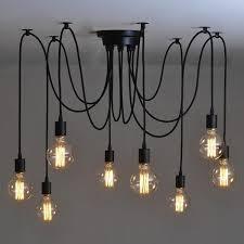 Vintage Light Bulb Pendant Vintage Edison Bulb Pendant Light Chandelier Tskhi
