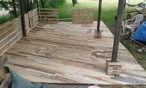 Decks And Patios For Dummies Pallet Deck Diy Patio Furniture