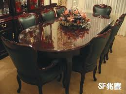 oval shape dining table high end glass dining tables rosewood dining set oval shape dining