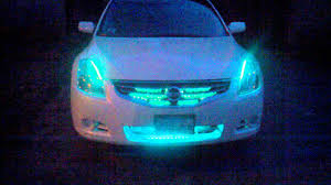 nissan altima coupe edmonton my nissan altima rgb led lighting youtube