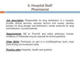 pharmacy help desk job description pharmacy careers pharmacist practice settings