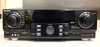 home theater stereo aiwa av d57u 350 watt multi function home theater stereo receiver