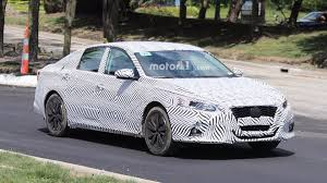 old nissan altima all new 2019 nissan altima spied testing for first time